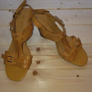 Franco Sarto Slingback Heeled Sandals sz 6.5